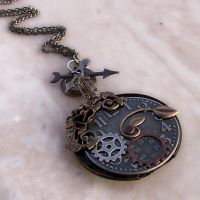 Steampunk Necklace 1 by Aranwen