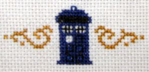 TARDIS cross stitch by with-asphodel-eyes