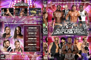 WWE Superstars September 2013 DVD Cover by Chirantha