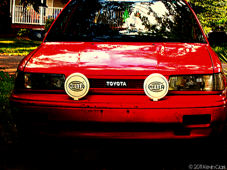 Toyota Corolla AE92 by Kevintc