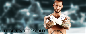 Wrestling Favorites: CM Punk by KamenRiderReaper