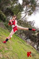Mai Shiranui The King of Fighter by Anapaulajil