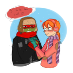 30 Day OTP Challenge : Day 1 Holding Hands by RedKawaiiPanda19