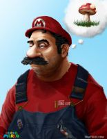 Super Mario by punktx30