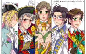 Hetalia Austrian War Close Up by CarmenMCS