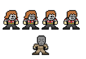 8-Bit Heath Who Hath No Name by lalalei2001