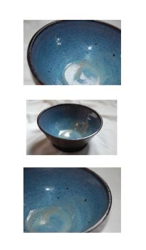 Blue High-Fire Bowl by runninglost259
