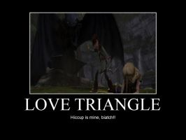 HTTYD-Love Triangle by IllusionEvenstar
