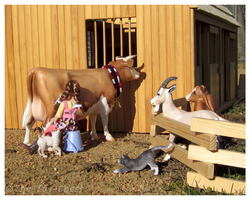 Breyer - Morning On The Farm by The-Toy-Chest