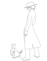 Pokemon Week day 7 Mike and Porkchop by HellStorm8000