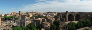 Roman Forum Panorama by xSoraliciousx