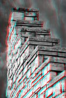 Stairway 3-D conversion by MVRamsey