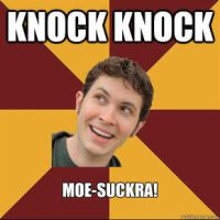 Tobuscus meme thing knock knock moe-suckra by snakehands