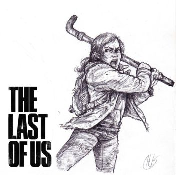 The Last of Us - Ellie by Wisdom-Thumbs