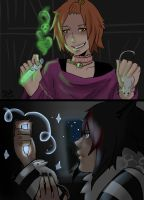 Bran and Haruke doing potion11 by Watolf
