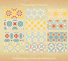 Photoshop pattern v1 by cameliaRessources