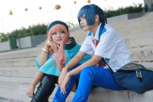 Macross Frontier_Dating by Tominaga-Sei