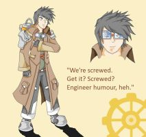 Steampunk Scientist by Nemo-Nessuno