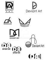 multiple logo ideas by foxanazartrox
