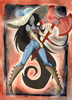 Marceline the Vampire Queen by TreyBarks