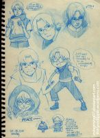 2010 Kabuto Sketches by mingming07