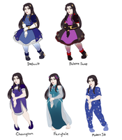 Outfits - Diao Suyin by FerricCoat