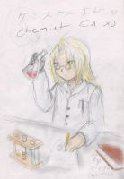 Dec 19th 07 - Ed as chemist by ChibiEdo