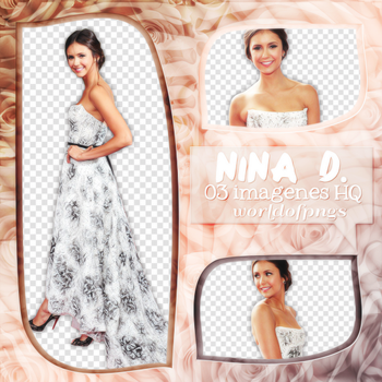 Pack png 62 - Nina Dobrev by worldofpngs