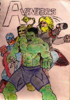Avengers by lordofpencil