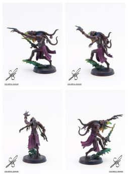 Herald of Tzeentch - full view by Colorfulsavage