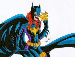 Batgirl by MikeES