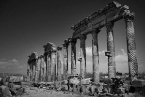 Syrian pillars by davidsant