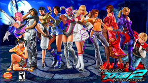 Tekken Tag 2 Lady by Steveburnside227