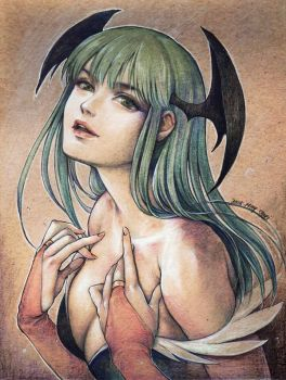Morrigan Aensland by jurithedreamer