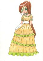 Nami's a southern belle by HavensGoneMad
