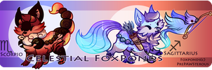 Celestial FoxPond For Auction(closed): by PrePAWSterous