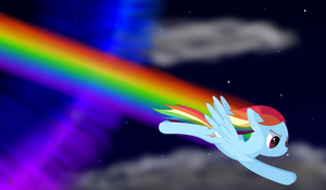 Night Rainboom by joeyh3