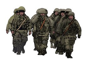 Russian Soldiers by jbeverlygreene