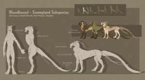 Bloodhound - Swampland Subspecies by BloodhoundOmega