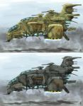 heavy guerilla gunship by krassnoludek