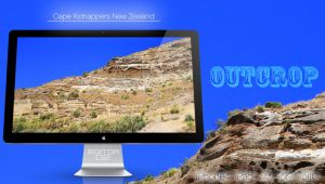 Outcrop - Wallpaper by GavinAsh
