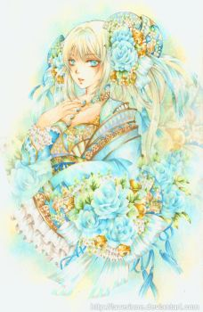 Blue Bell by laverinne