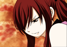 Erza's Tear by Manuel-production