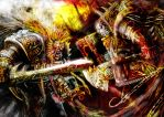 anger on and russtribution by slaine69
