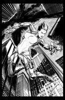 Top Cow Sample Pin up - Pencils Luis Inzunza by sequentialinzunza