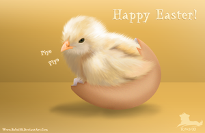 -Happy Easter- 2010 by Roksi10