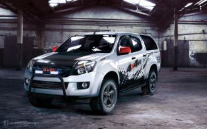 Isuzu D-Max 4x4 by GoodieDesign