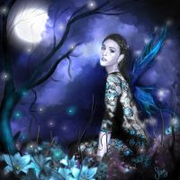 Night Faery by vivenaishide
