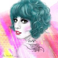 Colour Me Gaga by caillu