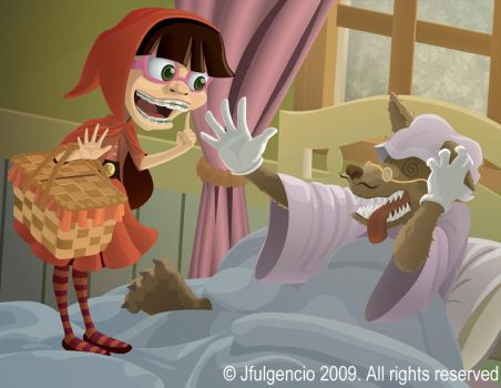 Little Red Riding Hood by JFulgencio